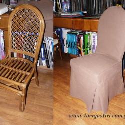 Πως μεταμορφώθηκε μια απλά καρέκλα από μπαμπού
