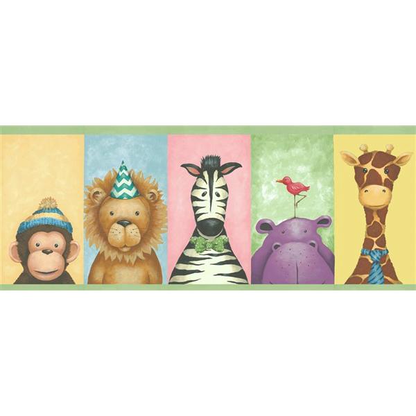 wallquest-pelikan-prints-pajama-party-framed-kj51154B