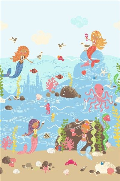 wallquest-pelikan-prints-pajama-party-lost-mermaids-at-play-kj50700M