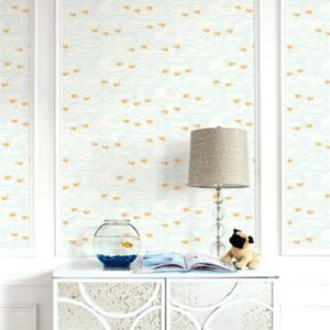 wallquest-pelikan-prints-pajama-party-sparkle-fish-all-over