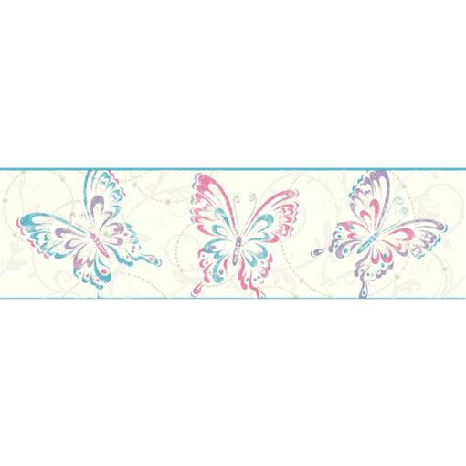 york-wallcoverings-growing-up-kids-butterfly-scroll-border-GK8936B