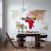 crochet παγκόσμιος χάρτης.