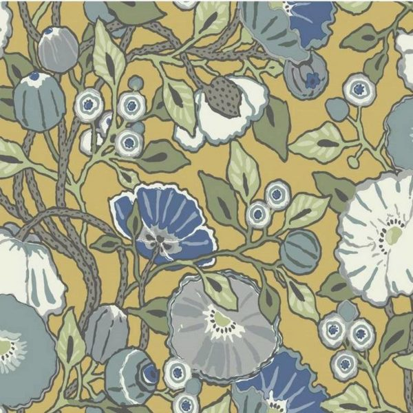 Wallpaper Tapetsaria Vincent Poppies CY1514