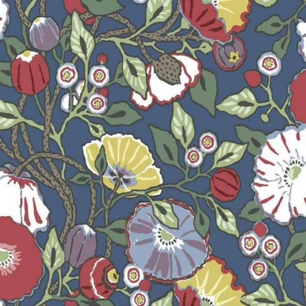 Wallpaper Tapetsaria Vincent Poppies CY1515