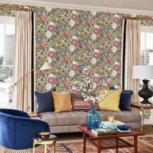 wallpaper vincent poppies