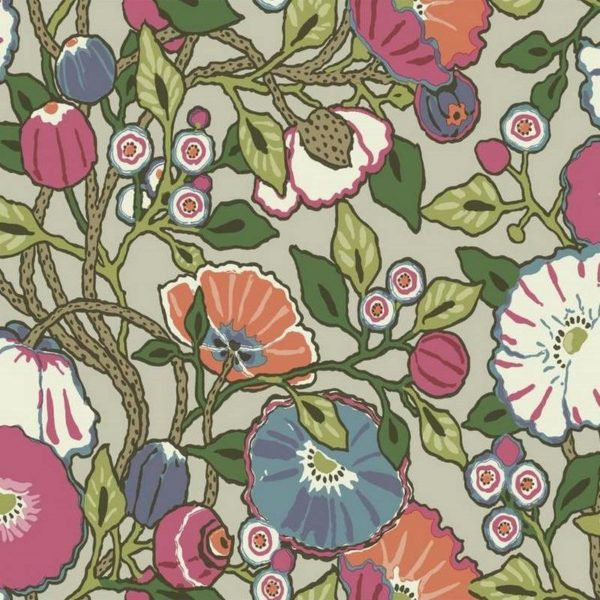 Wallpaper Tapetsaria Vincent Poppies CY1516