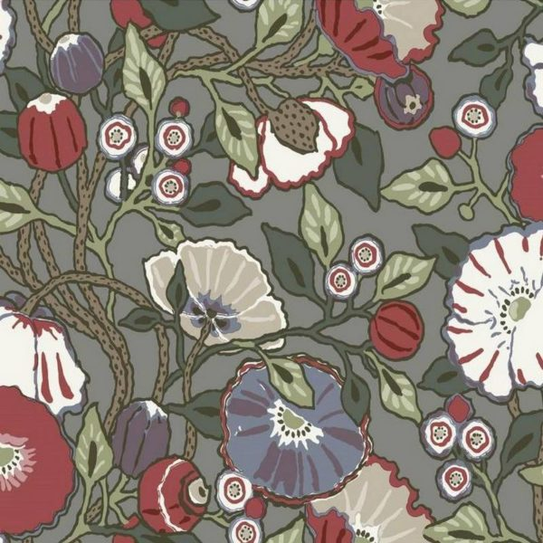 Wallpaper Tapetsaria Vincent Poppies CY1518