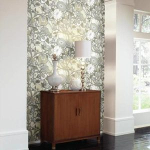 Wallpaper Tapetsaria Vincent Poppies CY1519-2