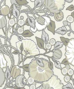 tapetsaria toixou wallpaper poppies