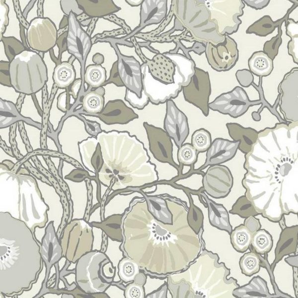 Wallpaper Tapetsaria Vincent Poppies CY1519