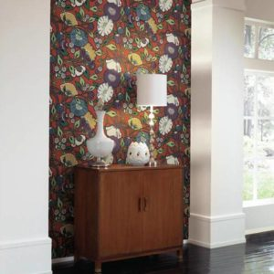 Wallpaper Tapetsaria Vincent Poppies CY1520-2